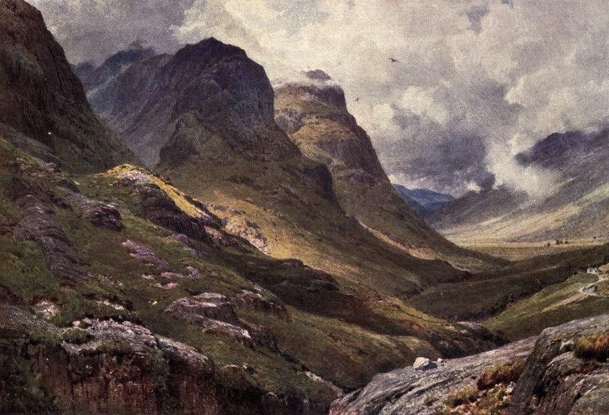 Bonnie Scotland Painted and Described - Glencoe, Argyllshire (1912)