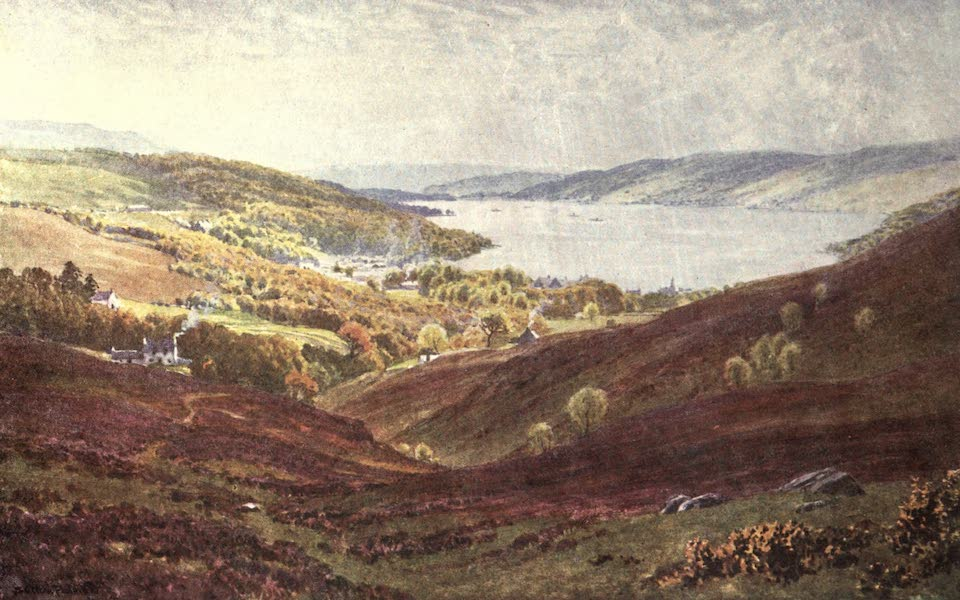 Bonnie Scotland Painted and Described - Garelochhead, Dumbartonshire (1912)