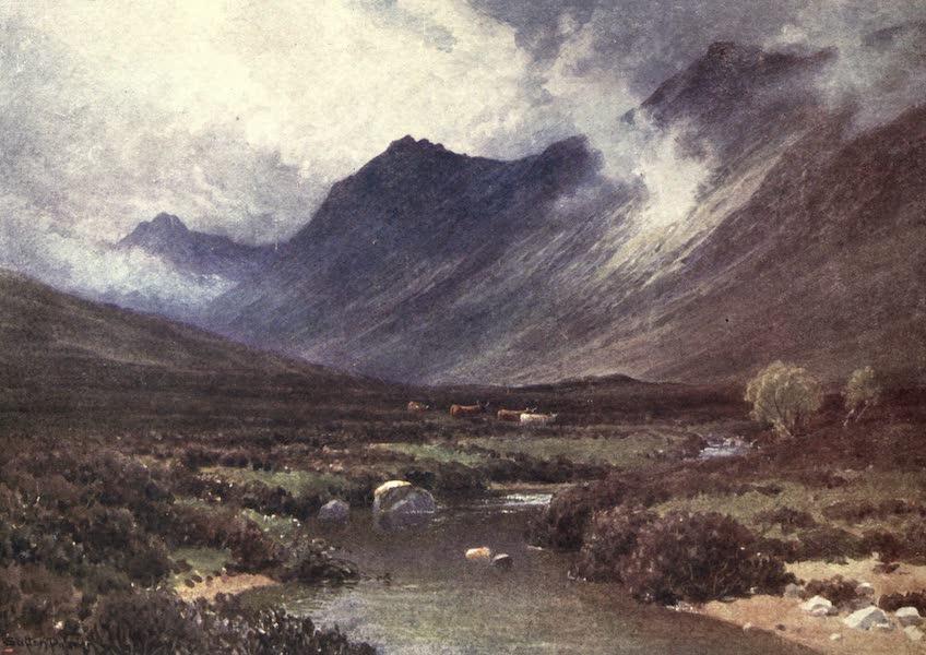 Bonnie Scotland Painted and Described - Glen Sannox, Isle of Arran (1912)