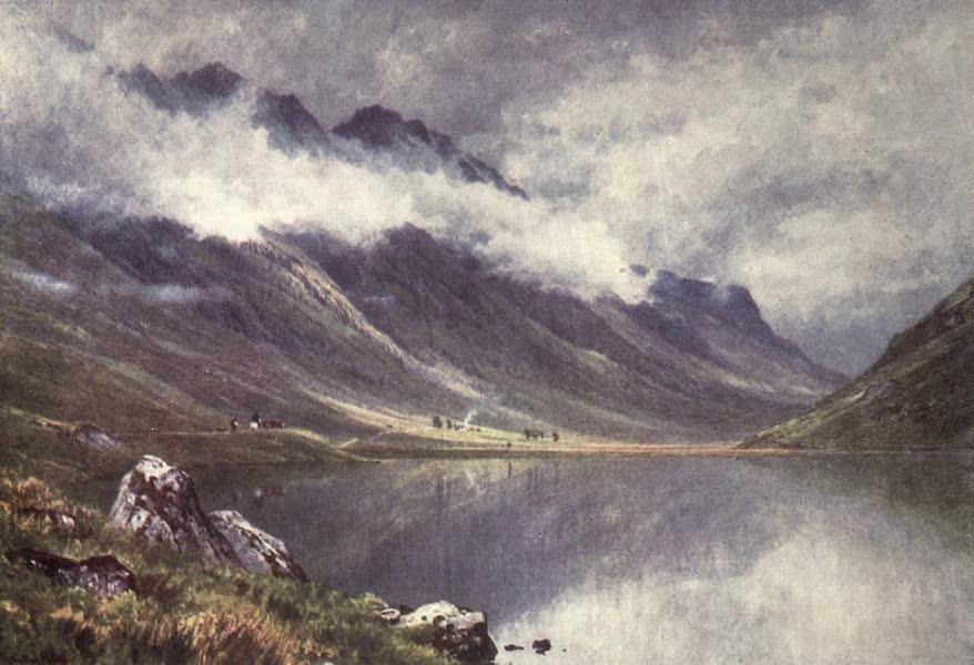 Bonnie Scotland Painted and Described - Loch Triochatan, Entrance to Glencoe, Argyllshire (1912)