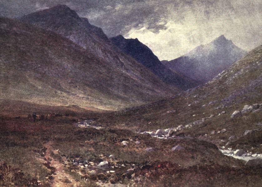 Bonnie Scotland Painted and Described - Glen Rosa, Isle of Arran (1912)