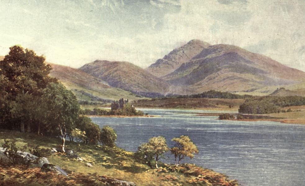 Bonnie Scotland Painted and Described - Kilchurn Castle, Loch Awe, Argyllshire (1912)