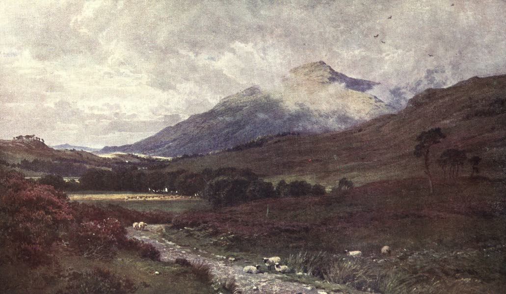 Bonnie Scotland Painted and Described - Ben Cruachan from Inverlochy, Argyllshire (1912)
