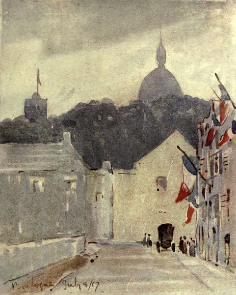 Boulogne, a Base in France - The Fourth of July (1918)