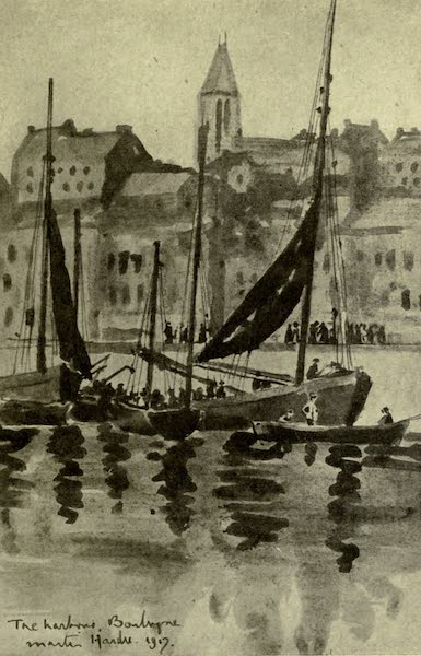 Boulogne, a Base in France - St. Pierre from the Harbour (1918)