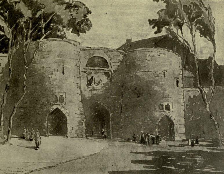 Boulogne, a Base in France - The Porte des Dunes (1918)