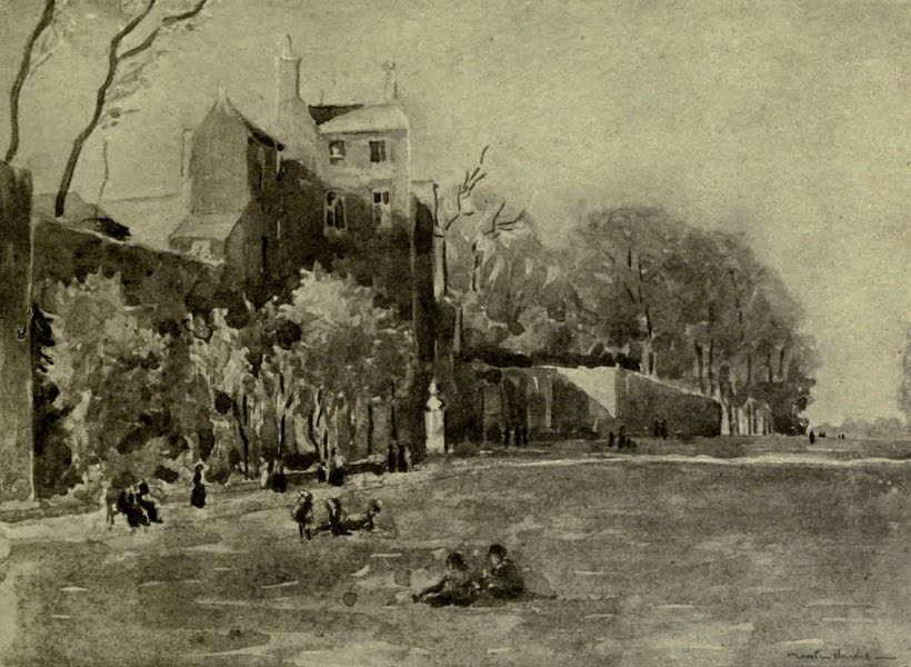Boulogne, a Base in France - The House on the Ramparts: Porte Gayole (1918)