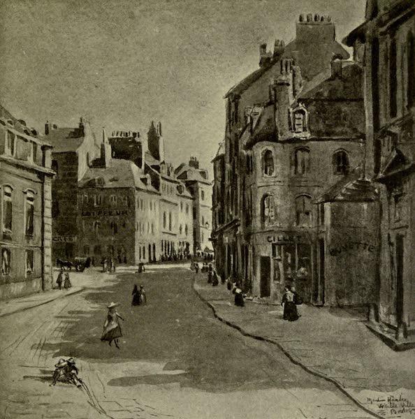 Boulogne, a Base in France - Rue du Palais de la Justice : Haute Ville (1918)