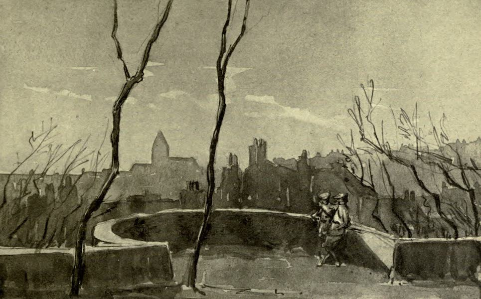 Boulogne, a Base in France - A Corner of the Ramparts (1918)