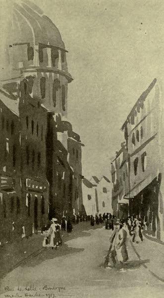 Boulogne, a Base in France - Rue de Lille (1918)
