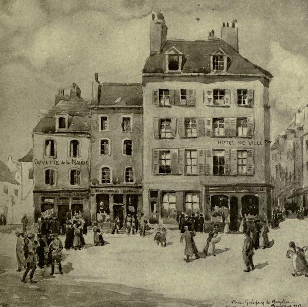Boulogne, a Base in France - The Place Godefroy de Bouillon (1918)