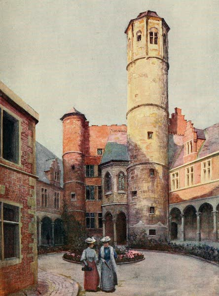 Brabant and East Flanders, Painted and Described - The Arriere Faucille (Achter Sikkel), Ghent (1907)