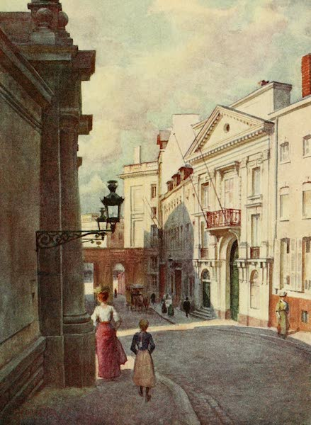 Brabant and East Flanders, Painted and Described - Rue de Namur, Brussels (1907)