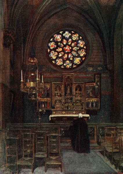 Brabant and East Flanders, Painted and Described - The Cathedral Chapel of St. Joseph, Antwerp (1907)