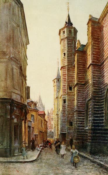 Brabant and East Flanders, Painted and Described - The Vieille Boucherie, Antwerp (1907)
