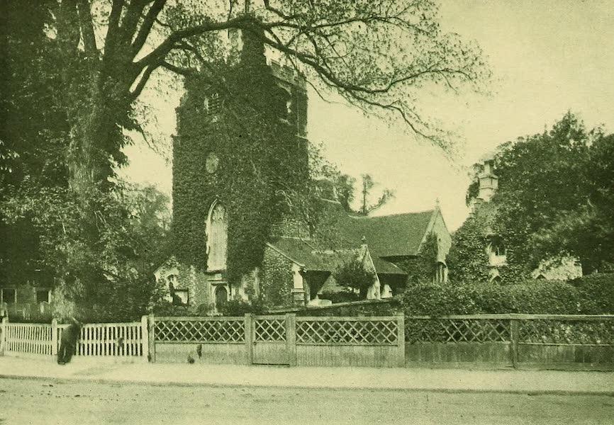 British Highways And Byways From A Motor Car - Hadley Church, Monken Hadley (1908)