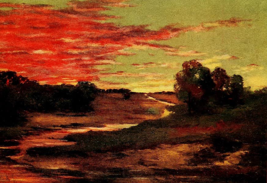 British Highways And Byways From A Motor Car - Sunset on the Moor (1908)