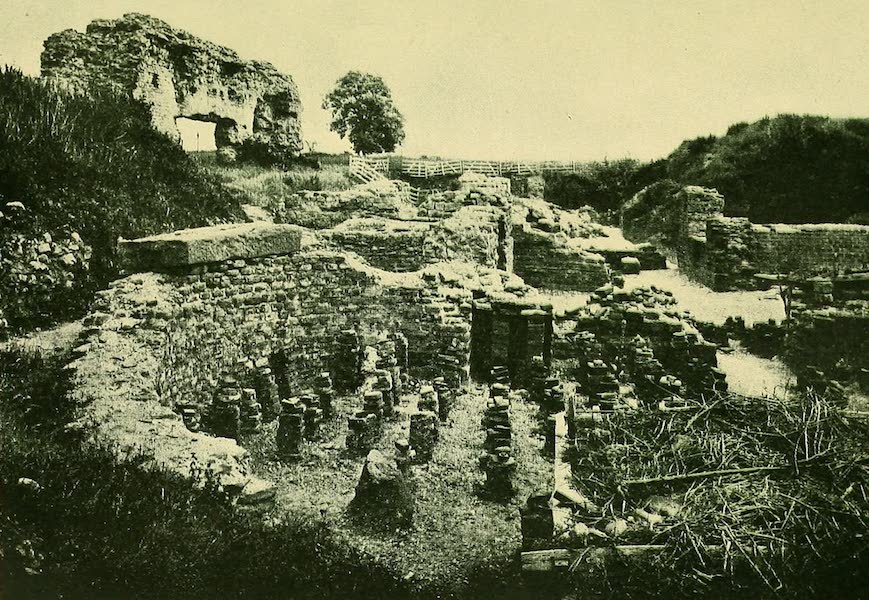 British Highways And Byways From A Motor Car - Ruins of Uriconium, near Shrewsbury (1908)