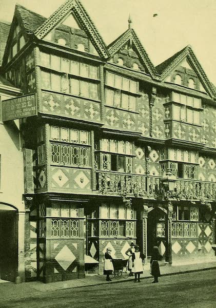 British Highways And Byways From A Motor Car - The Feathers Hotel, Ludlow (1908)