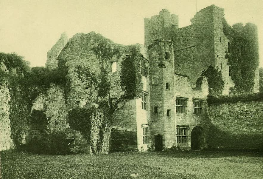 British Highways And Byways From A Motor Car - Ludlow Castle, the Keep and Entrance (1908)