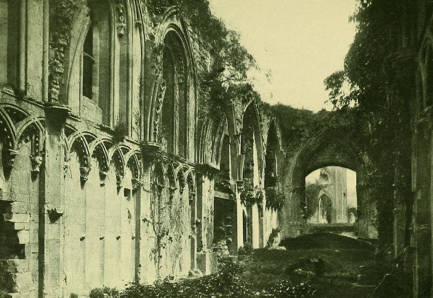 British Highways And Byways From A Motor Car - St. Joseph's Chapel, Glastonbury Abbey (1908)