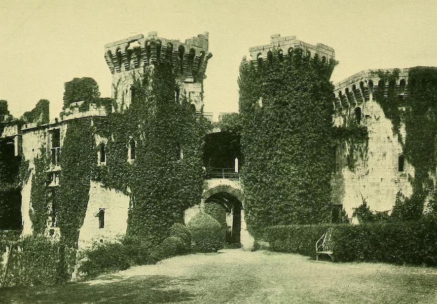 British Highways And Byways From A Motor Car - Ruins of Raglan Castle, South Wales (1908)