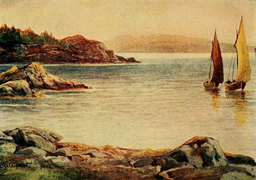 British Highways And Byways From A Motor Car - Entrance to Loch Tyne (1908)