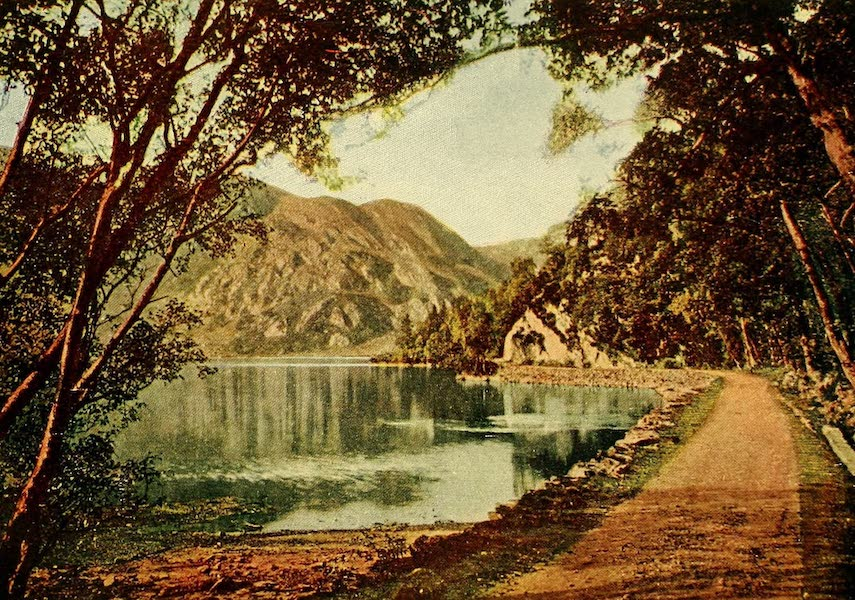 British Highways And Byways From A Motor Car - The Path By the Loch (1908)