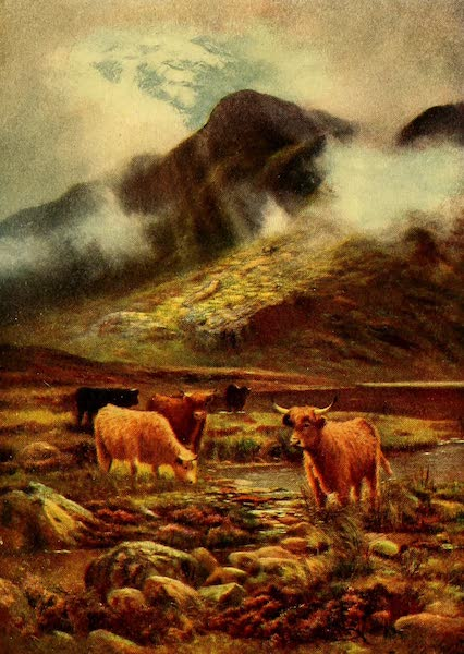 British Highways And Byways From A Motor Car - In the Scottish Highlands (1908)
