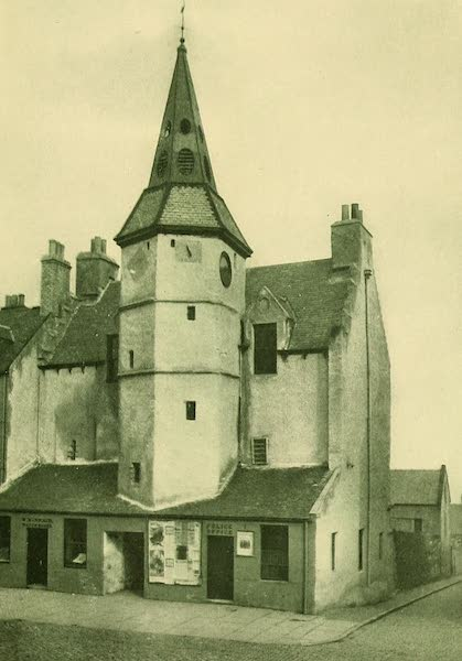 British Highways And Byways From A Motor Car - Town House, Dunbar, Scotland (1908)