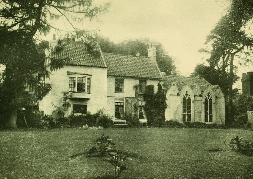 British Highways And Byways From A Motor Car - Somersby Rectory, Birthplace of Tennyson (1908)