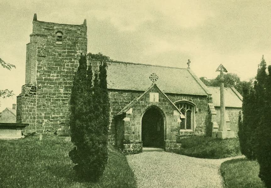 British Highways And Byways From A Motor Car - Somersby Church (1908)