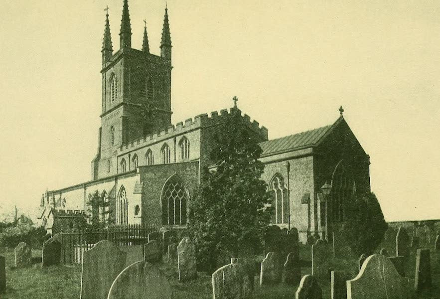 British Highways And Byways From A Motor Car - John Wyclif's Church, Lutterworth (1908)