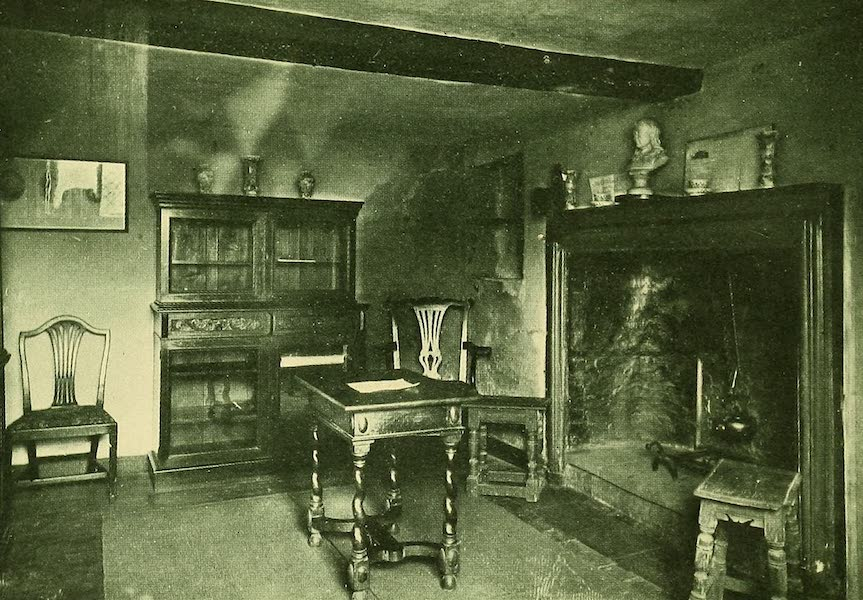 British Highways And Byways From A Motor Car - Milton's Room in Cottage at Chalfont St. Giles (1908)