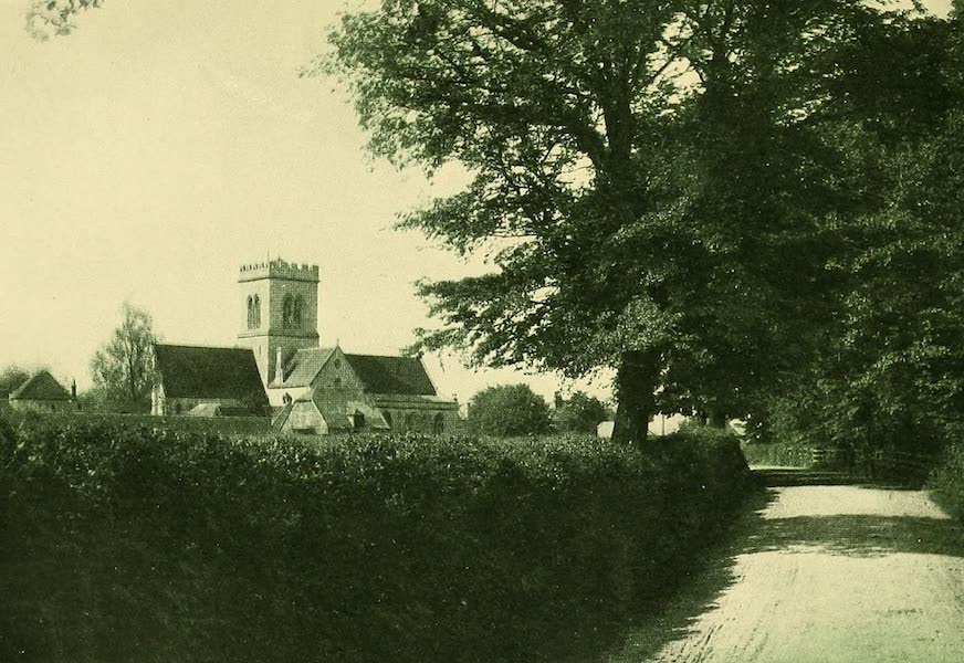 British Highways And Byways From A Motor Car - Ringwood Church (1908)