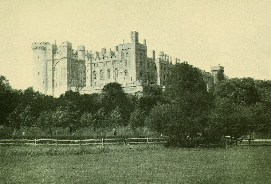 British Highways And Byways From A Motor Car - Arundel Castle (1908)