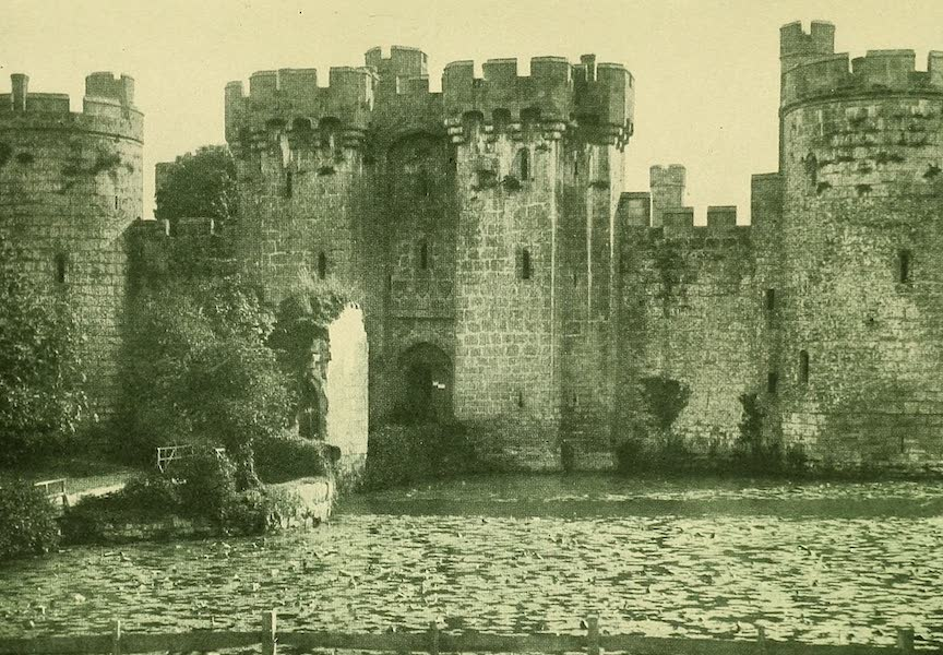 British Highways And Byways From A Motor Car - Entrance Front Bodiam Castle, Sussex (1908)
