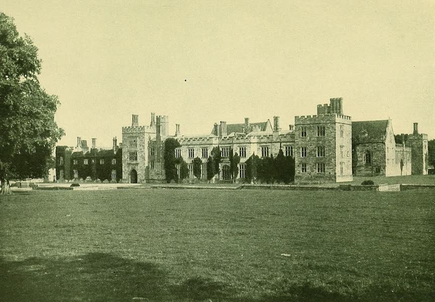 British Highways And Byways From A Motor Car - Penshurst Place, Home of the Sidneys (1908)