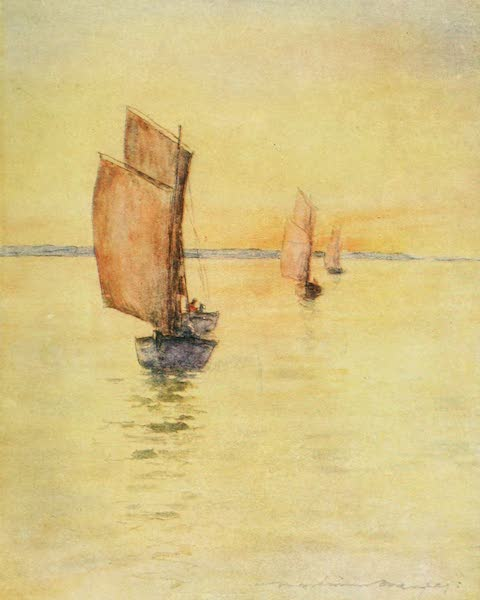 Brittany by Mortimer Menpes - Homeward Bound (1912)