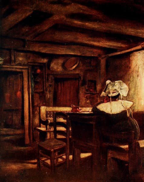 Brittany by Mortimer Menpes - Meditation (1912)