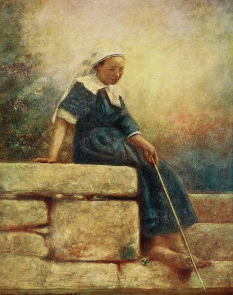 Brittany by Mortimer Menpes - Idle Hours (1912)