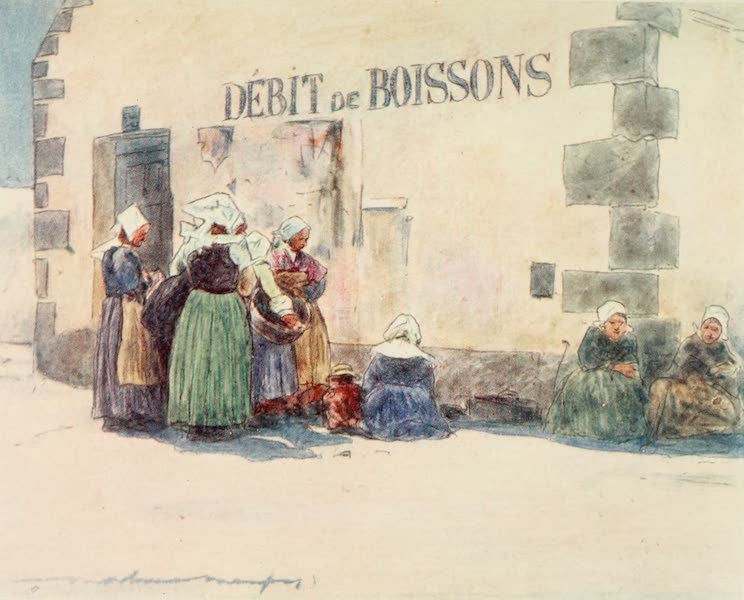 Brittany by Mortimer Menpes - Debit de Boissons (1912)