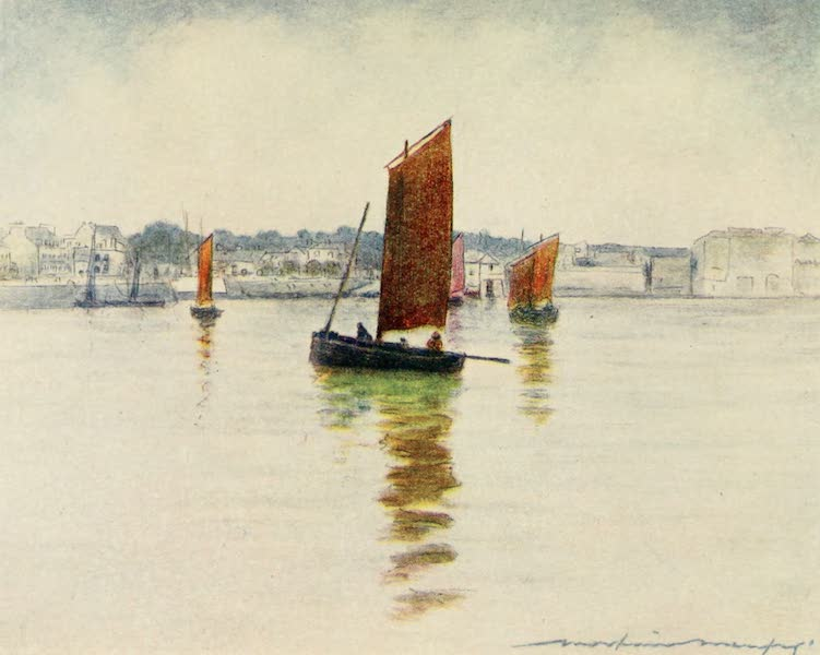 Brittany by Mortimer Menpes - Reflections (1912)