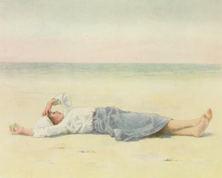 Brittany by Mortimer Menpes - In the Eye of the Sun (1912)