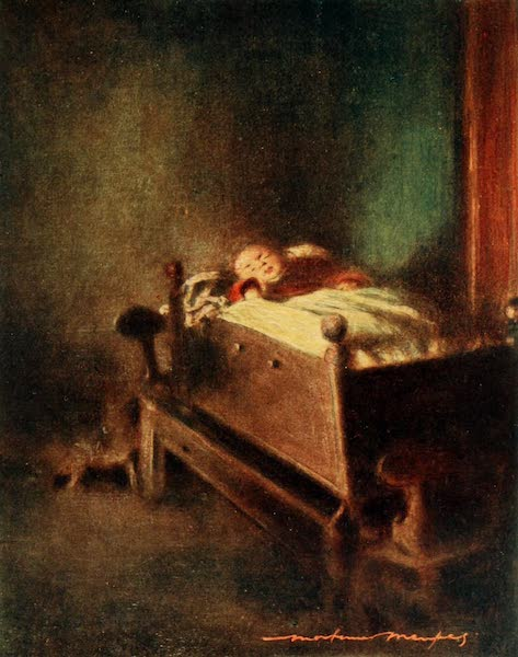 Brittany by Mortimer Menpes - The Cradle (1912)