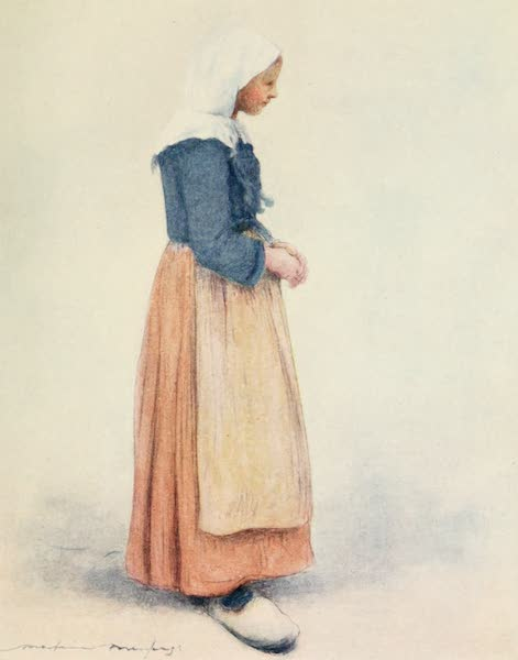 Brittany by Mortimer Menpes - Marie (1912)