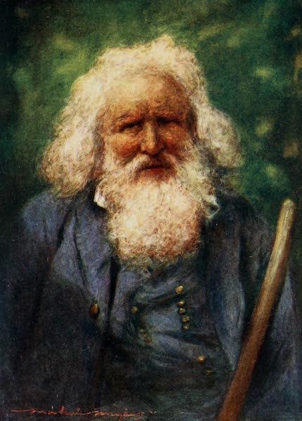 Brittany by Mortimer Menpes - A Blind Beggar (1912)