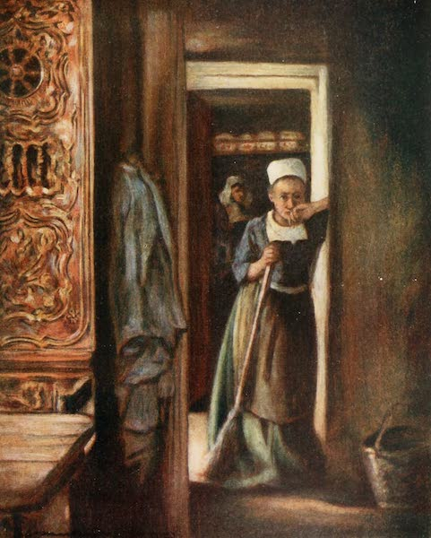 Brittany by Mortimer Menpes - Household Duties (1912)