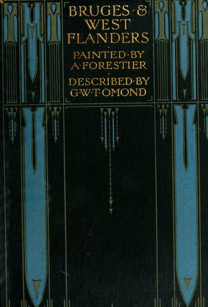 Bruges and West Flanders, Painted and Described - Front Cover (1906)