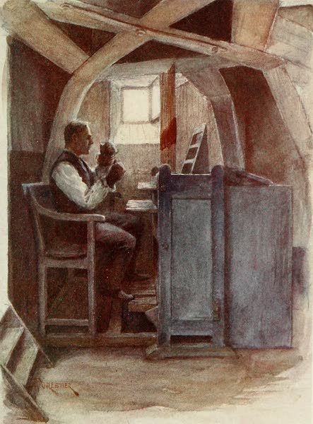 Bruges and West Flanders, Painted and Described - Bell-ringer Playing a Chime (1906)